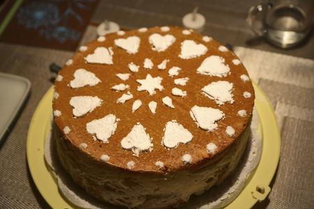 baked homemade sweet cake pastry