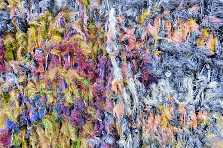 interlace: Colourful Hammock interlace from rag