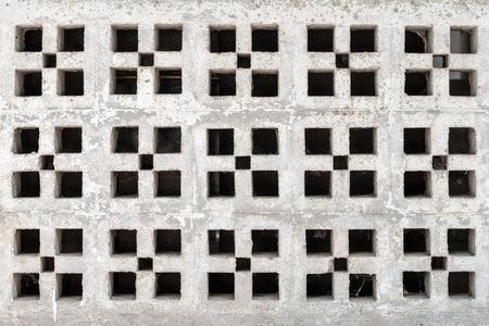 orificio nasal: espiráculo abstracta en la pared blanca
