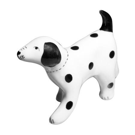 Dalmatiner Keramik-Figur Standard-Bild - 62465429