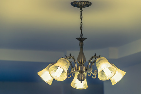 Ceiling lamp for interior decoration, old style celling lamp.