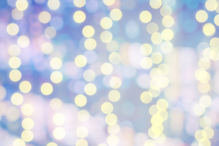 Bokeh light pastel color background.