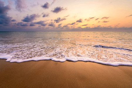 Sunset over Andaman sea 스톡 콘텐츠