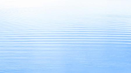 ぼやけて水の波紋、海表面の抽象的な背景の抽象的な背景。
