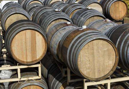 Vineyard Oak Barrels, Mid-Willamette Valley, Marion County, Western Oregon