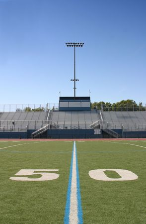 yardline: Football Field Fifty