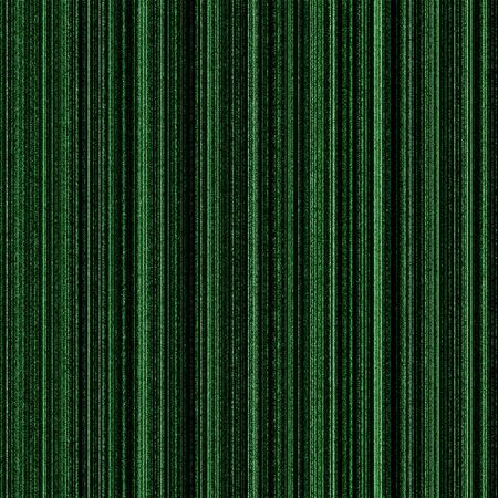 green lines: Matrix green background with neon green columns. Stock Photo