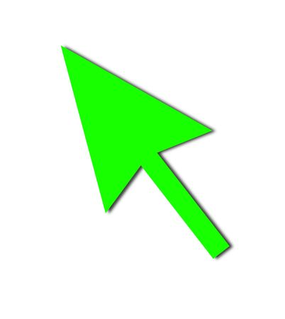 Cursor Arrow for the use with mouse or other pointer. Фото со стока