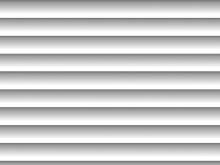blinds: Gray horizontal blinds as backdrop or background with sunlight Stock Photo