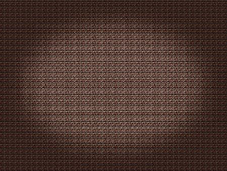 Brown brick background with a spot light