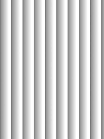 jalousie: Gray vertical blinds as backdrop or background with sunlight Stock Photo