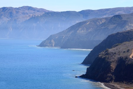 Santa Cruz Island of the cost from Ventura California