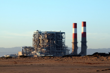 natural gas power statio near oxnard california Stock Photo - 8896537