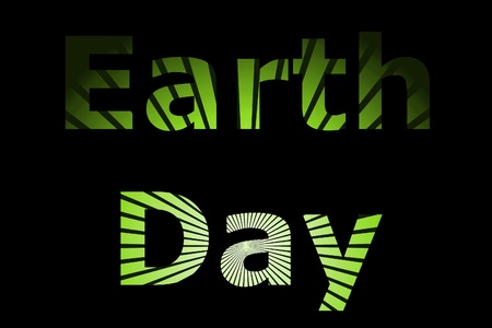 A early event Earth Day for nature and going green. Stock Photo - 9019257