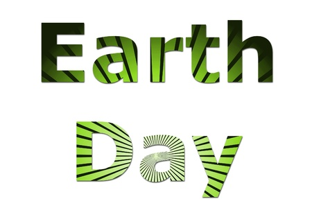 going green: A early event Earth Day for nature and going green.