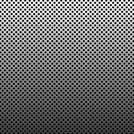 metal grid: Circle texture metal abstract background with dots
