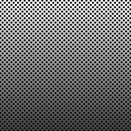Cirkel textuur metalen abstracte achtergrond met stippen