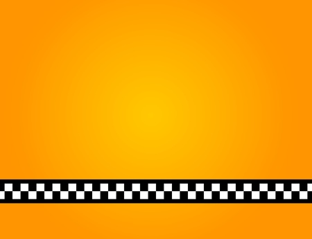 Background of a yellow taxi cab without text