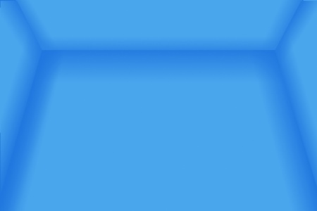 A blue empty room 3D usefull as a background. Stock Photo - 10461831