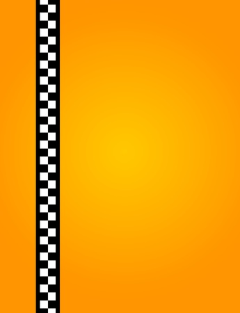 yellow taxi: Background of a yellow taxi cab without text