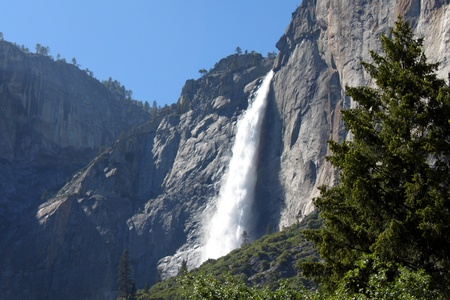 Yosmiete falls one of the most famouse place in California. photo