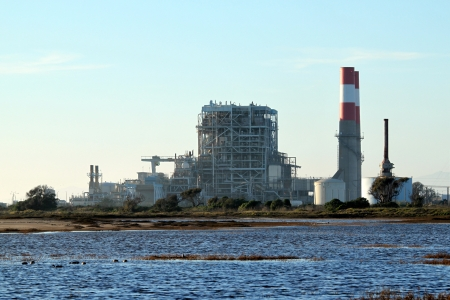 natural gas power statio near oxnard california