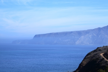 Santa Cruz Island of the cost from Ventura California photo