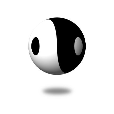 dia y noche: Yin Yang D�a Noche opuesto o fuerzas contrarias