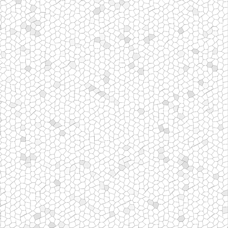 White Mosaic with shades of gray as background. photo