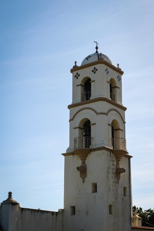The post office tower in down town Ojai.