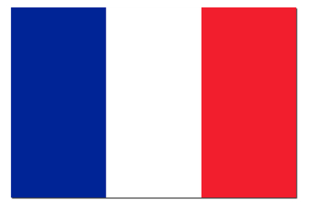 french flag: France Flag with the color blue white red. Stock Photo
