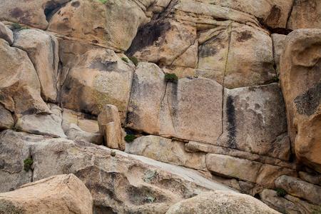 crack climbing: Granite Rock Background