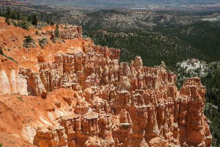 hoodoos: Hoodoos Sandstone Formations in Bryce Canyon National Park, Utah