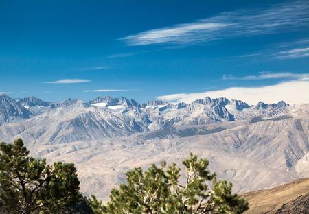 high sierra: Eastern Sierra View