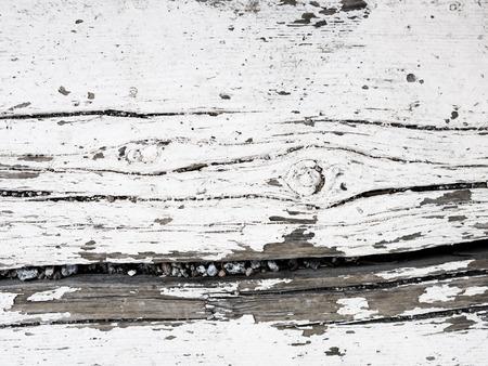 Weathered Wood and Peeling Paint Stock Photo