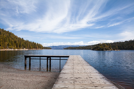 lake beach: Dock on Lake Beach