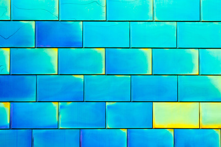 reflective: Reflective Colorful Tiles Background