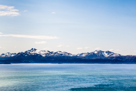 Ocean and Mountain Range