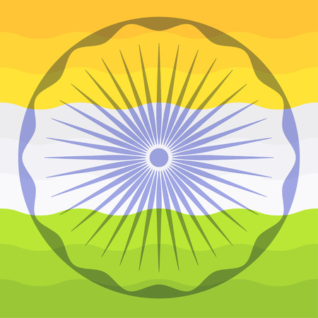 India flag. india background.