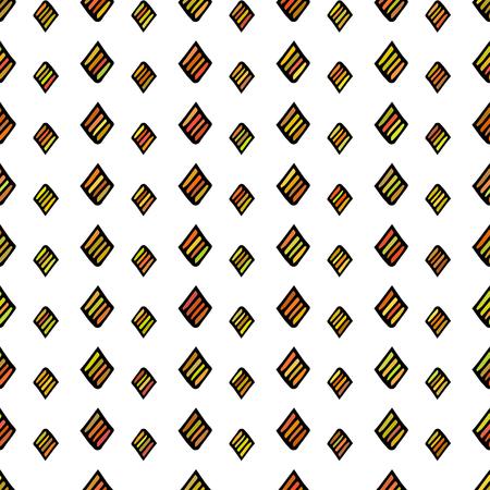 blockhead: rhombus, striped square. for registration notebook, textbook, web site, web design, fabric, material. multicolor. vector illustration.