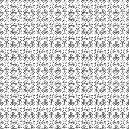 Round Continuous Pattern Seamless Background Wallpaper For