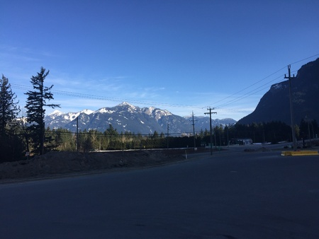 A Breathtaking view from Trans Canada Highway 1 in Hope, BC