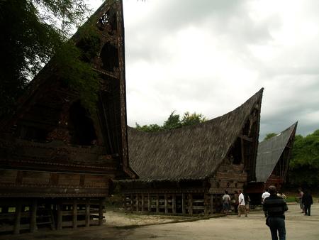 Traditional Batak House North Sumatra