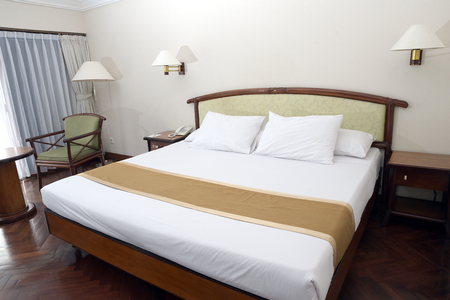 Minimalist Old Vintage Villa bedroom