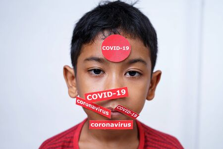 Quarantine schoolboy in isolation at home for coronavirus