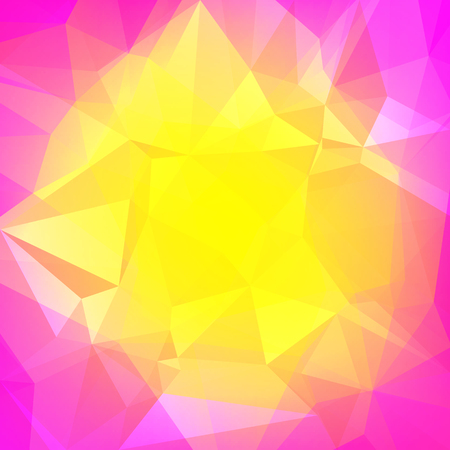 Vibrant rainbow multicolored polygonal backdrop for business presentation.