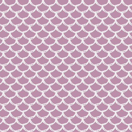 Mermaid seamless pattern. Fish skin texture. Tillable background for girl fabric, textile design, wrapping paper, swimwear or wallpaper. Blue mermaid background with fish scale.