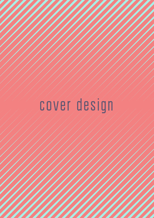Abstract cover. Futuristic geometric template for banner, poster, flyer, brochure. Minimal trendy layout with halftone gradients. Abstract EPS 10 illustration. Minimalistic colorful cover. Illustration