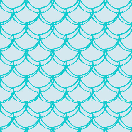 Fish scale seamless pattern. Reptile, dragon skin texture. Tillable background for your fabric.