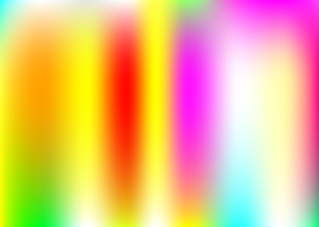 Hologram abstract background. Multicolor gradient mesh backdrop with hologram. 90s, 80s retro style. Pearlescent graphic template for book, annual, mobile interface, web app.